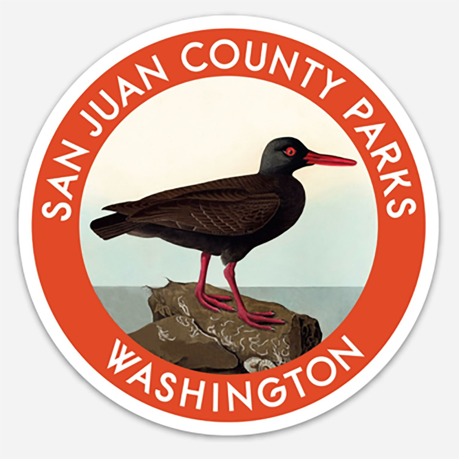 Parks Oystercatcher Decal