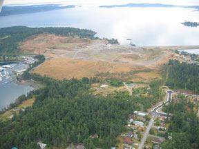 San Juan Islands Former Gravel Pit